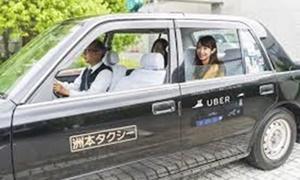 ウーバー、淡路島でタクシー配車実験