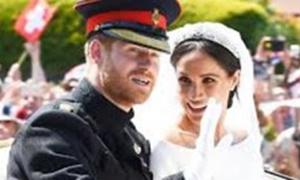 ハリー王子とメーガン・マークスさんがウインザーで結婚