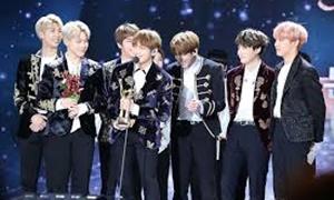 韓国の男性アイドルグループ全米チャート1位に