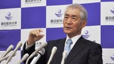本庶氏、ノーベル賞受賞