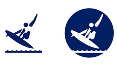 東京オリンピックのピクトグラム公表