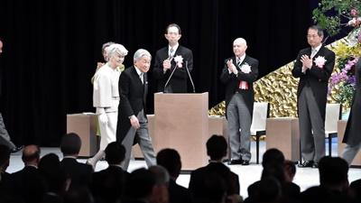 天皇陛下、在位30年記念式典