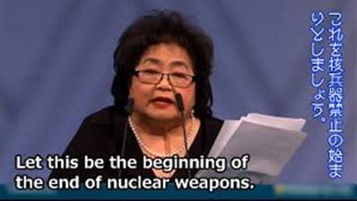 サーロ節子氏、核廃絶呼びかけ