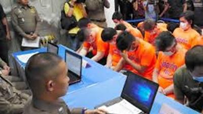 タイ警察、日本人詐欺グループ逮捕