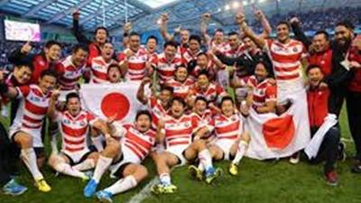 ラグビー日本がアイルランドを撃破!