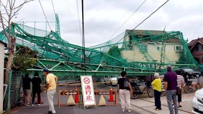台風15号の影響で大規模停電が発生!