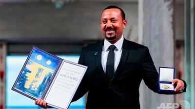 エチオピアのアビー首相がノーベル平和賞受賞