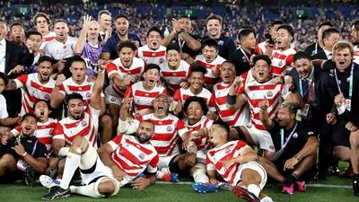 ラグビーW杯、日本で開幕