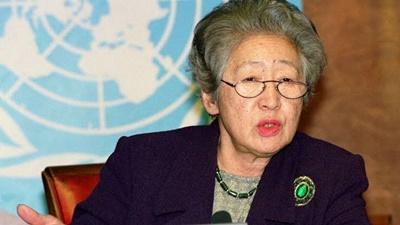 「元国連高等弁務官 緒方貞子さん死去」