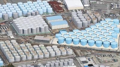 福島原発の処理水を海洋排出